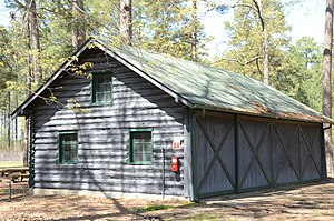 National Register of Historic Places listings in Ashley County, Arkansas - Image: Crossett Experimental Forest Building No. 2