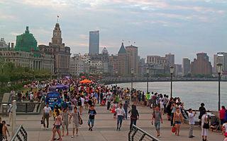 thoroughfare in Shanghai