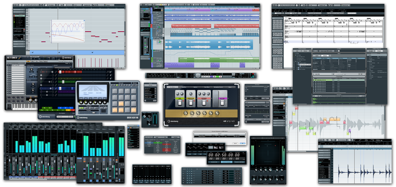 Cubase 6 feature collage