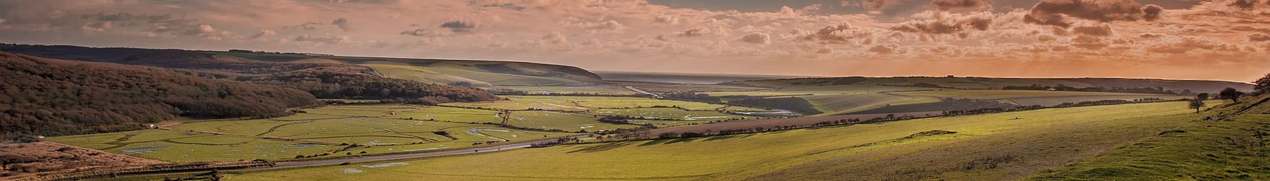 Cuckmere Haven and its famous meanders