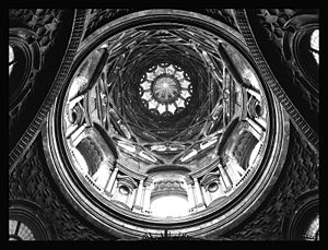 Guarino Guarini - Interior Cupola of the Sindone Chapel, Turin