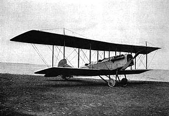 Curtiss Aeroplane and Motor Company - Curtiss 160 hp reconnaissance biplane (1918)