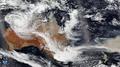 Cyclone Blake and Australian bushfire.png