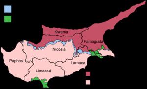 División Política de Chipre