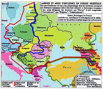 carte europe mediane