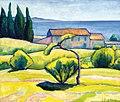 Czigány Dezső - 1926-30 - Dél-Francia tájkép.jpg