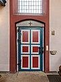 Dülmen, Kreuzkapelle, Eingangstür -- 2021 -- 7154-8.jpg