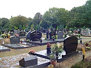 Jüdischer Friedhof innerhalb des Düsseldorfer Nordfriedhofs
