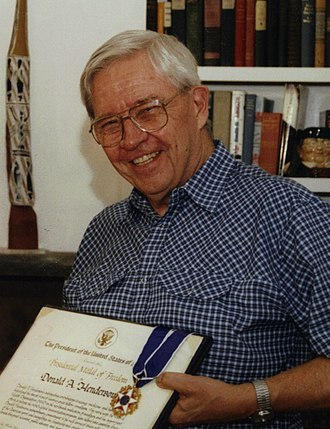 Donald Henderson - Henderson with his Presidential Medal of Freedom in July 2002