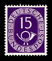 DBP 1951 129 Posthorn.jpg