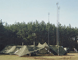 Signal Regiment (Denmark) - Radio Relay node in 2002