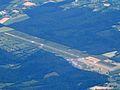 DOL AIRPORT DEAUVILLE SAINT GATIEN FROM FLIGHT CDG-EWR N173DZ 767 DELTA (14553605063).jpg