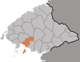 Location of Sŏnch'ŏn County
