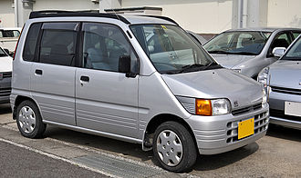 Daihatsu Move - The first generation Japanese market L600 Move