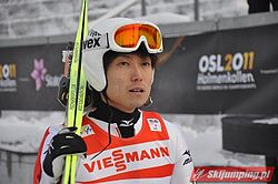 Daiki Itō Oslo 2011 (training, large hill).jpg