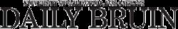 Ĉiutaga Bruin Text Logo.png