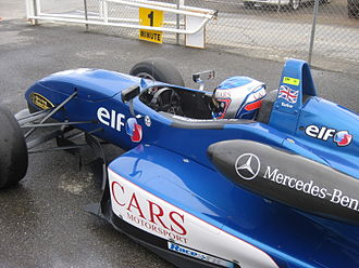 Australian Drivers' Championship - Englishman Ben Barker (Dallara F307), winner of the 2010 Australian Drivers' Championship.