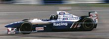 Photo de Damon Hill sur Williams FW17B