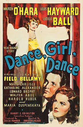 Description de l'image Dance, Girl, Dance (1940 film poster).jpg.