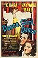 Dance, Girl, Dance (1940 film poster).jpg
