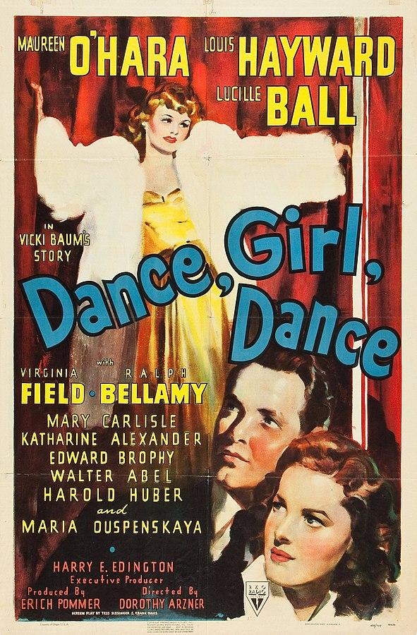 591px-Dance,_Girl,_Dance_(1940_film_post