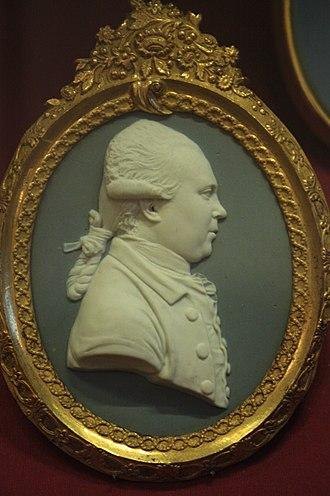 Daniel Solander - Daniel Solander. miniature by Josiah Wedgwood