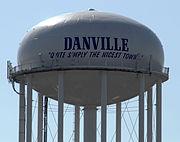Danville, KY Water Tower, Feb 2014