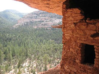 Dark Canyon Wilderness - Ancestral Puebloan ruin in Dark Canyon Wilderness