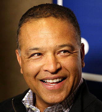 Dave Roberts (outfielder) - Roberts at the 2015 Winter Meetings