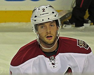 David Rundblad - Rundblad with the Phoenix Coyotes in 2014.