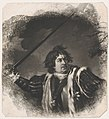 David Garrick as Richard III (Shakespeare, King Richard III, Act 5, Scene 8) MET DP858689.jpg