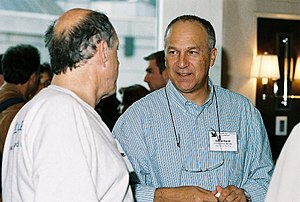 David Harel - David Harel (right) with Carl Hewitt at FLoC 2006