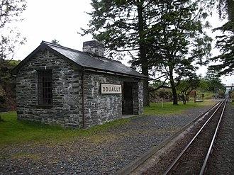 Dduallt railway station - Dduallt station.