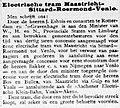 De Telegraaf vol 013 no 4631 Avondblad Electrische tram Maastricht-Sittard-Roermond-Venlo.jpg
