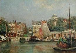 De oude vismarkt aan de Leuvehaven