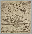 Dead Confederate soldier in trenches of Fort Mahone in front of Petersburg, Va., April 3, 1865 LCCN2012647836.jpg