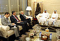 Defense.gov News Photo 110408-F-DQ383-015 - Secretary of Defense Robert M. Gates meets with His Highness Mohammad bin Zayed al Nuhayanm the Crown Prince of The United Arab Emirates UAE at his.jpg