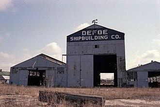 Defoe Shipbuilding Company - Defoe Shipbuilding Co abandoned 1981