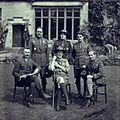 Delegatiei Romaniei impreuna cu lord Baden-Powell 1929.jpg