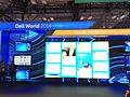 Dell Social Media listening wall at Dell World (15726937762).jpg