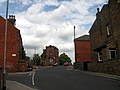 Delph Lane, Leeds, looking north, Back Delph Mount is the alley up to the left (2009) - panoramio.jpg
