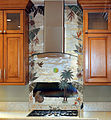 Delux 3D Carved Stone Tropical Splash Mural.jpg