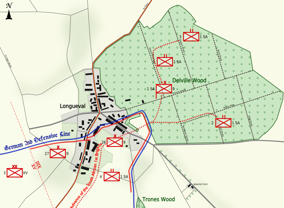 Delville Wood 14 July 1916 (cropped)