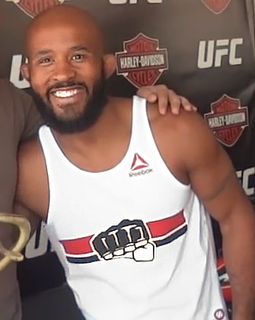 Demetrious Johnson American mixed martial arts fighter