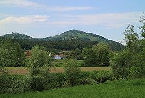 Demmerkogel from the south (Sulmtal)