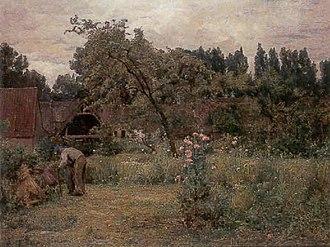 Adrien Demont - Tending the Garden