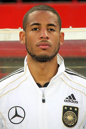 Dennis Aogo - Aogo before a match with Germany in 2011.