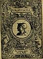 Deorvm dearvmqve capita, ex antiquis numismatibus Abrahami Ortelii collecta et historica narratione illustrata a Francisco Sweertio (1602) (14561624717).jpg