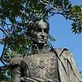 Der Revolutionär Simon Bolivar wirkt doch etwas melancholisch, nicht wahr - panoramio.jpg