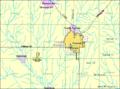 Detailed map of Newton, Kansas.png